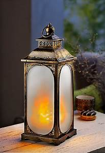 Led Laterne Garten : led laterne flame jetzt bei bestellen ~ Whattoseeinmadrid.com Haus und Dekorationen