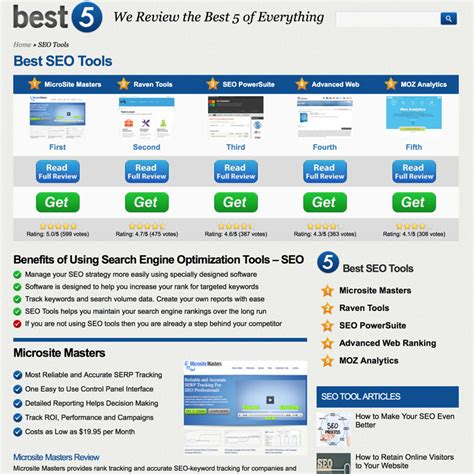 Best Seo Tools by Best 5 Ranks 2014 S Best Seo Tools