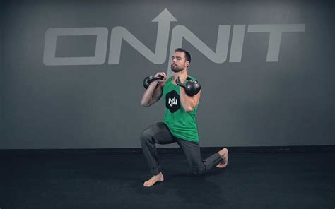 squat split kettlebell lunge double exercise racked onnit academy