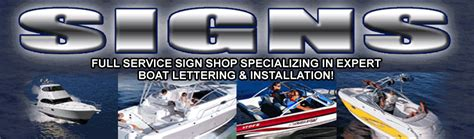 Boat Us Discount by Design Your Own Sign Boat Lettering Service Striping