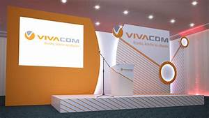 3D Project - Vivacom Event - Set stage design on Behance