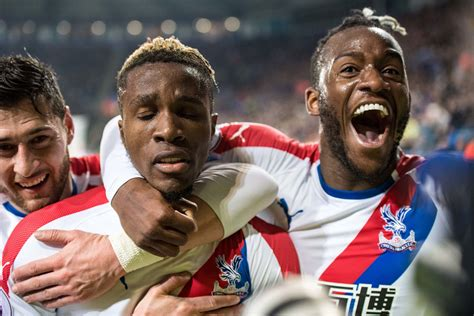 Liverpool fans react to Wilfried Zaha display for Crystal ...
