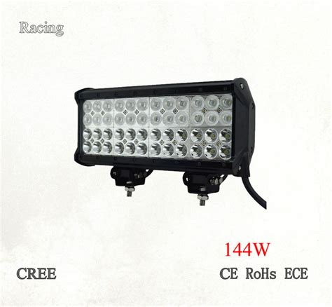 12inch 144w led light bar motorcycle led light bar atv
