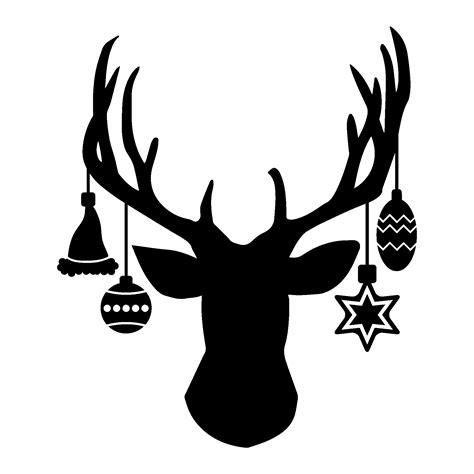 deer head ornament wall quotes decal wallquotescom