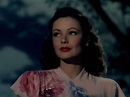 Gene Tierney : In Color - YouTube