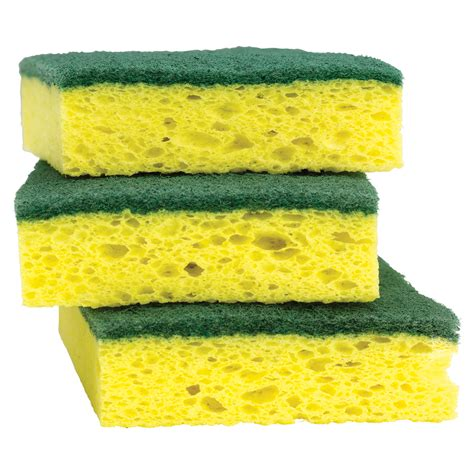 scouring pad shop scotch brite 3 pack cellulose sponges with scouring