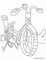 Coloring Bicycle Sheets Bike Sheet Kid Safety Drawing Printable Activities Bestcoloringpages Bikes Bicycles Preschool Push Popular Driver License Library Clipart sketch template