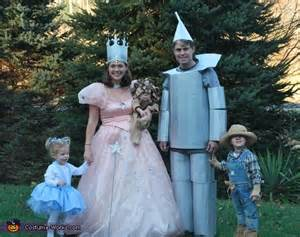Wizard of Oz Characters Homemade Costumes