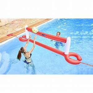 Jeu De Piscine : filet de volley xl flottant pour piscine ~ Melissatoandfro.com Idées de Décoration