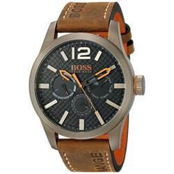 design herrenuhren orange analoguhr sportliche armbanduhr im industrial design herrenuhren