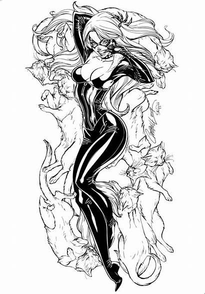 Inks Skipper Blackcat Deviantart Comics Deviant Cartoons