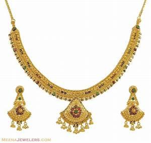 22 Karat Gold Wert Berechnen : gold necklace set 22 karat stgo9945 22k gold necklace and earrings set with filigree ~ Themetempest.com Abrechnung