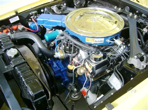 1969 Ford 302 Engine by Bright Yellow 1969 302 Ford Mustang Fastback