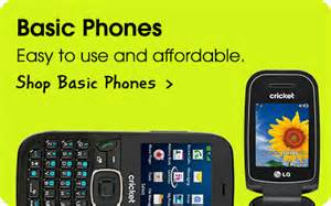Cricket Wireless Basic Phones