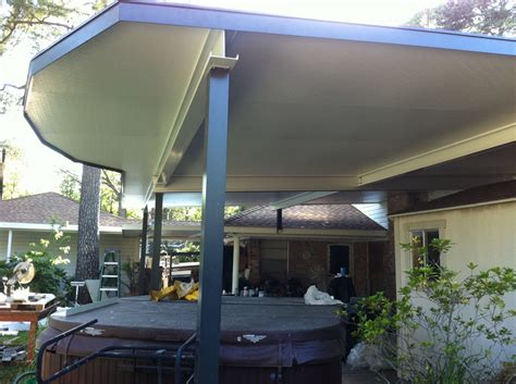 aluminum patio covers tx aluminum patio cover insulated roof in 187 a 1