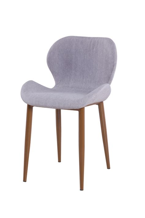 modrest shelby modern grey dining chair