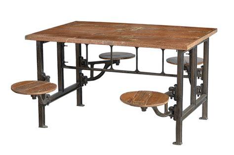 möbel esstisch massivholz esstisch industrial look industriell mit sitzen