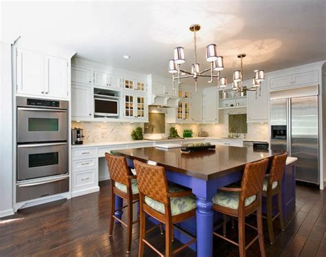 15 Pretty Kitchen Island with Seating   Home Design Lover