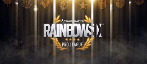 rainbow  pro league finals  top  pc teams