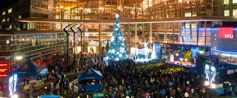 surrey tree lighting festival kicks the season