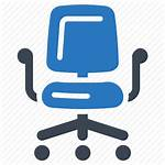 Office Icons Icon Chair Furniture Desk Transparent