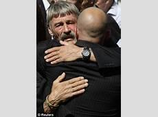 Tears of SAS embassy siege hero at repatriated of son who