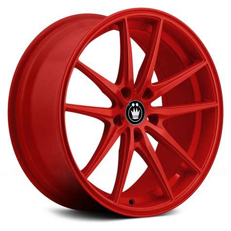 KONIG® OVERSTEER Wheels - Red Rims
