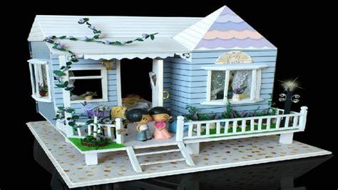 dollhouse miniature kit beach house dollhouse miniature