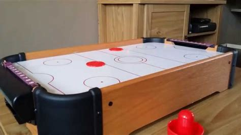 mini air hockey table game  great detail  hd