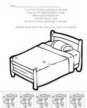 hd wallpapers coloring pages monkeys jumping bed - Coloring Pages Monkeys Jumping Bed