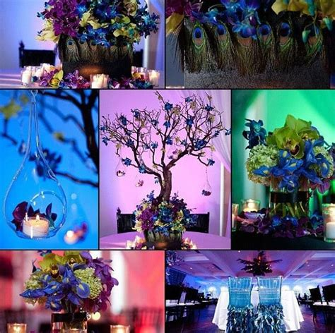 26 best weddind decor images on peacock wedding centerpieces peacock feathers and