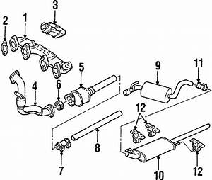 1998 Volkswagen Jetta Exhaust Bracket  Exhaust Bracket  Hanger  Diesel  Liter  System