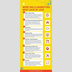 8 Work Skills Marketers Must Have By 2020 [infographic]