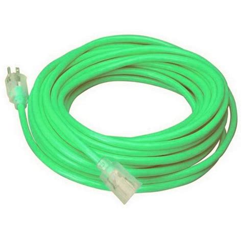coleman cable outdoor cool colors power extension cords