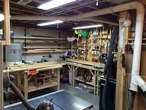 John's Basement Workshop - The Wood Whisperer