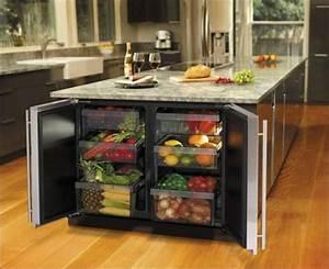 La cuisine avec ilot central idees de decoration et for Idee deco cuisine avec cuisine moderne design