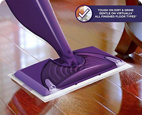 swiffer for wood floors reviews swiffer wetjet hardwood and floor spray mop cleaner starter kit includes 1 power mop 5 pads