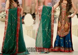 affordable wedding dress designers stylish bridal dresses sharara and gharara designs 2015