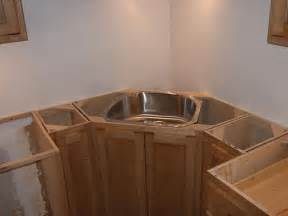 corner kitchen sink cabinet ideas corner sink and pull out trash