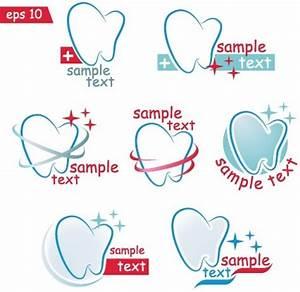 Creative dental logos design graphic vector Free vector in ...