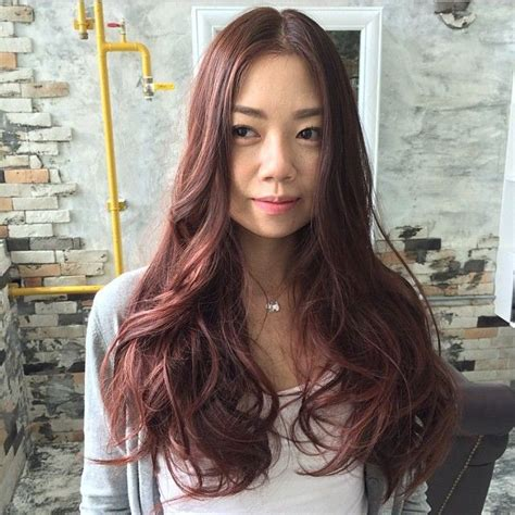 A Soft Pink Brown Hair Color Can Enhance Your Natural