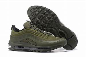 Bright Luster Nike Air Max 97 Playstation Green 884421 007 Men's Casual Trainers Running Shoes