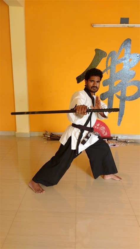 India Kung Warrior Monk Training Magunta Lay Out