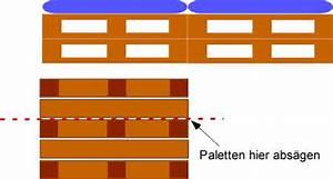 Sitzecke Aus Paletten : eine sitzecke selber bauen bauanleitung mit bauplan ~ Frokenaadalensverden.com Haus und Dekorationen