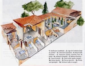 maison gallo romaine avie home With croquis d une maison 8 pix l com ecorche dune villa gallo romaine