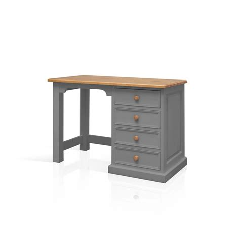 small pine computer desk galway grey painted pine furniture small pc office
