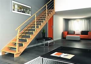 Escalier Bois Intérieur : escalier interieur en bois 3 escaliers bois 233volution ~ Premium-room.com Idées de Décoration