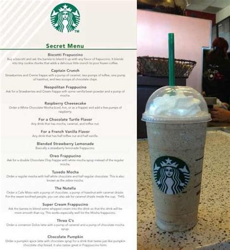 When you place your order online or at your favourite starbucks store. Starbucks secret menu | Starbucks secret menu drinks, Starbucks secret menu