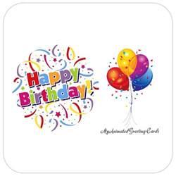 Animated Happy Birthday Surprise