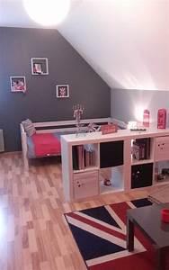 chambre ado fille design - chambre d ado fille maison design
